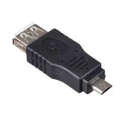 Adapter Akyga AK-AD-08 USB A (f) / micro USB B (m) OTG