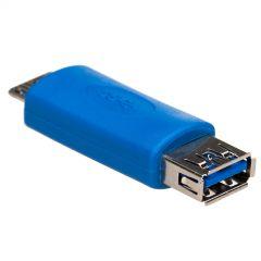 Adapter Akyga AK-AD-25 USB A 3.0 (f) / micro USB B 3.0 (m) OTG