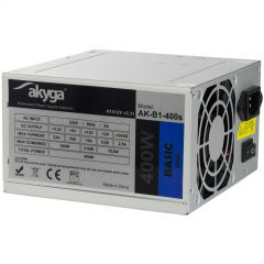 ATX power supply 400W Akyga AK-B1-400S P4 2x SATA 2x Molex PPFC FAN 8cm used