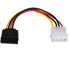 Adapter with cable Akyga AK-CA-17 Molex (m) / SATA (f) 15cm