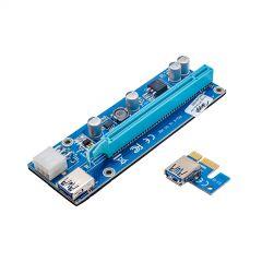 Riser Akyga AK-CA-64 PCI-E 1x - 16x USB 3.0