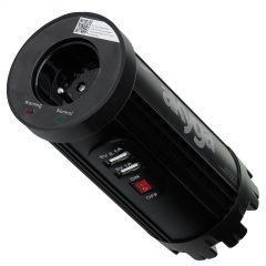 Przetwornica samochodowa Akyga AK-CI-01 12V / 230V 150W 2x USB 2.1A