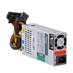 Power supply unit Flex ATX 200W Akyga AK-I1-200 1U mini ITX 20+4 P4 2x SATA 2x Molex PPFC FAN 40mm