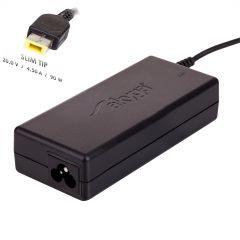 Notebook power supply Akyga AK-ND-29 20V / 4.5A 90W Slim Tip LENOVO 1.2m