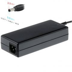 Notebook power supply Akyga AK-ND-30 12V / 5.0A 60W 5.5 x 2.5 mm ITX / PICO / LED 1.2m