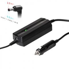 Car notebook power supply Akyga AK-ND-31 19V / 3.42A 65W 5.5 x 2.5 mm ASUS / TOSHIBA 1.2m