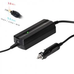 Car notebook power supply Akyga AK-ND-38 19V / 3.16A 60W 5.5 x 3.0 mm + pin SAMSUNG 1.2m