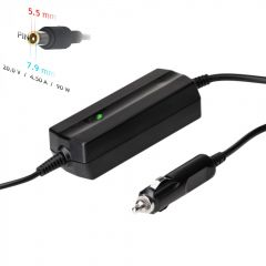 Car notebook power supply Akyga AK-ND-39 20V / 4.5A 90W 7.9 x 5.5 mm + pin LENOVO 1.2m