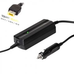 Car notebook power supply Akyga AK-ND-42 20V / 4.5A 90W Slim Tip LENOVO 1.2m