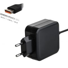 Notebook power supply Akyga AK-ND-59 20V / 2.0A 40W Lenovo Power USB LENOVO 1.2m