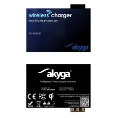 Adapter QI Akyga AK-QIR-06 3 pin Note 3