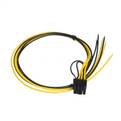 Service cable for PC PSU Akyga AK-SC-20 PCI-E 6-2 pin (m) 45 cm
