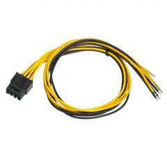 Service cable for PC PSU Akyga AK-SC-22 EPS 8-pin 45 cm