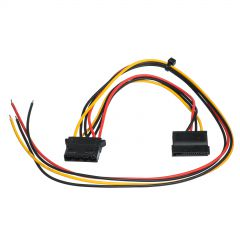 Service cable for PC PSU Akyga AK-SC-23 Molex (f) / Sata (f) 40 / 15 cm