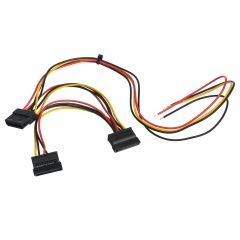 Service cable for PC PSU Akyga AK-SC-24 Molex (f) / Sata (f) / Sata (f) 40 / 15 / 15 cm