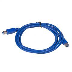 Cable USB Akyga AK-USB-09 USB A (m) / USB B (m) ver. 3.0 1.8m