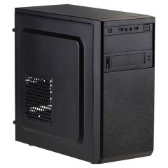 Case Micro ATX Akyga AK17BK 2x USB 3.0 black w/o PSU - used