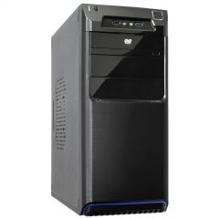 Case Midi ATX Akyga AK27BL 1x USB 3.0 black w/o PSU - used