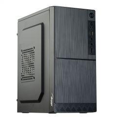 Case Micro ATX Akyga AK35BK 2x USB 2.0 black w/o PSU