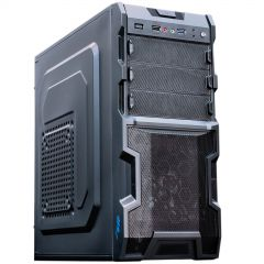 Case Midi ATX Akyga AKY003BK 1x USB 3.0 gamer black w/o PSU - used