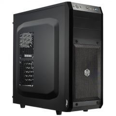 Obudowa Midi ATX Akyga AKY006BK 1x USB 3.0 gamer czarna bez PSU