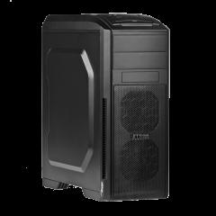Case Midi ATX Akyga AKY010BK 1x USB 3.0 gamer black w/o PSU - used