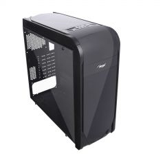 Case Midi ATX Case Midi Gamer ATX Akyga AKY013BK 1x USB 3.0 gamer plexi window w/o PSU - used
