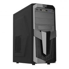 Case Midi ATX Akyga AKY25BK 1x USB 3.0 black w/o PSU