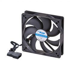 System fan Akyga AW-12A-BK 120mm black Molex