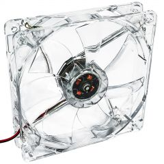 System fan Akyga AW-12A-BR 120mm LED red Molex