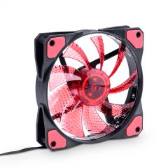 System fan Akyga AW-12C-BR 120mm 15 LED red Molex / 3-pin
