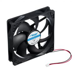 System fan for ATX PSU AW-12D-BK 120mm black 2-pin used