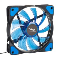 System fan Akyga AW-12E-BL 120mm 33 LED blue Molex