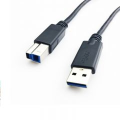 Cable USB DELL USB A (m) / USB B (m) ver. 3.0 1.8m -used