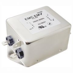 Jednofazowy filtr EMI Akyga EMC EMV EN2080-12-F 12A 120-250VAC 50/60Hz