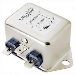 Single phase EMI filter Akyga EMC EMV EN2090-6-F 6A 120-250VAC 50/60Hz