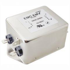 Jednofazowy filtr EMI Akyga EMC EMV EN2090B-16-F 16A 120-250VAC 50/60Hz
