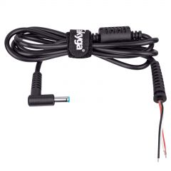 Power cable for notebooks Akyga AK-SC-11 4.5 x 3.0 mm + pin HP 1.2m